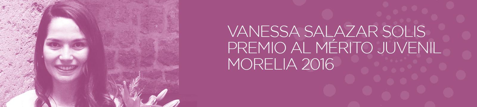 Premio Vanessa Salazar 2016
