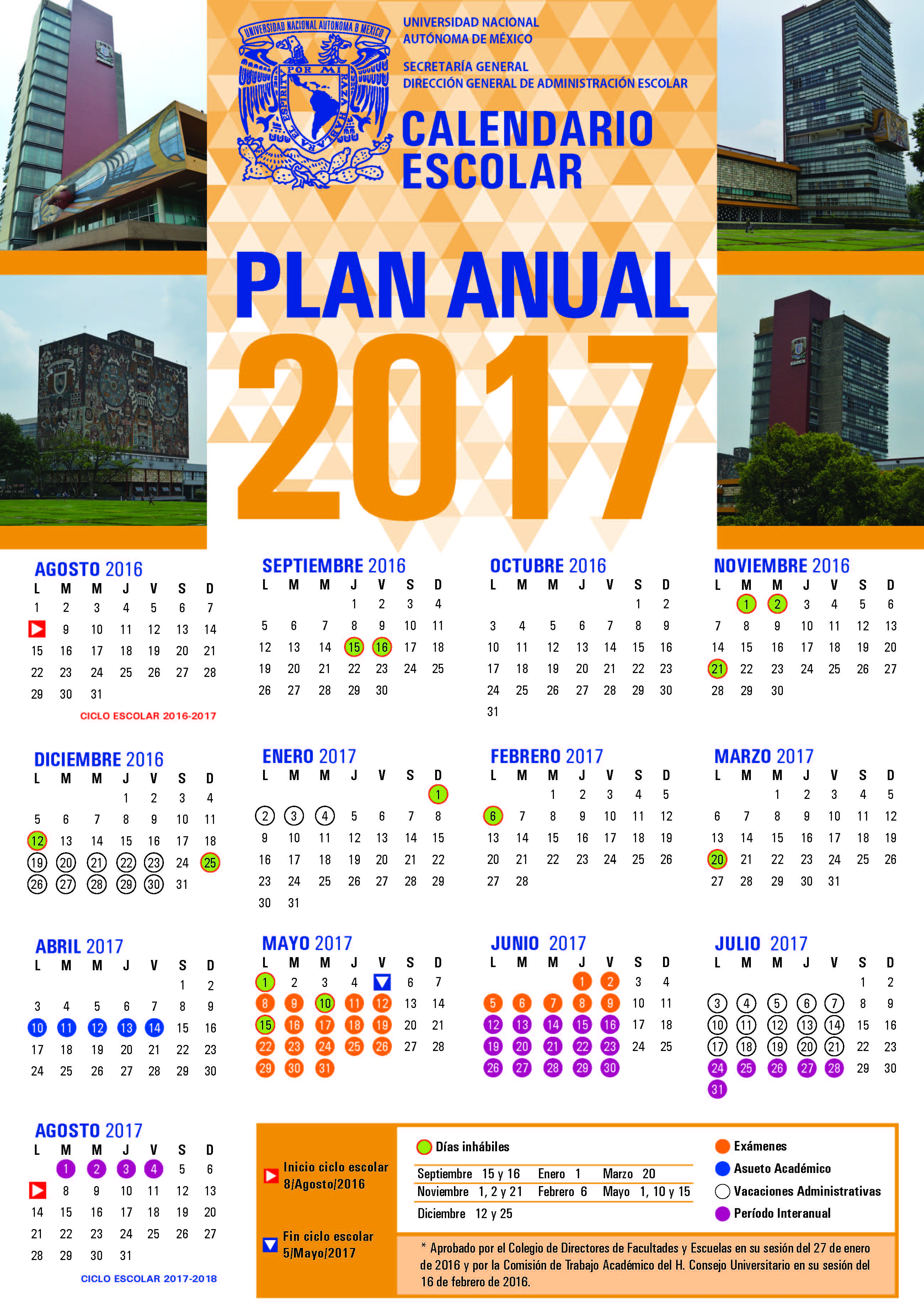 CalendarioAnual2017_gaceta
